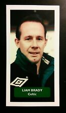 Celtic-Liam Brady-punteggio UK FOOTBALL TRADE card