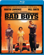 BAD BOYS BLU-RAY | REGION FREE | REMASTERED IN 4K | WILL SMITH | MARTIN LAWRENCE