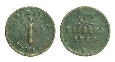 pci1461) ANCONA Seconda Repubblica Romana, Baiocco 1849