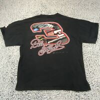 Dale Earnhardt Graphic TShirt Winners Circle Black Nascar The Intimidator - XL