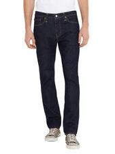 Jeans da uomo blu indaco, lavaggio colori scuri Taglia 34