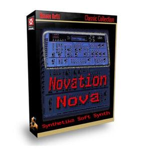 Reason Refill Novation Nova