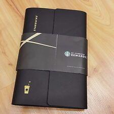 Starbucks Malaysia Collector Card Holder Album 2016 Reward Limited Edition BLACK