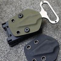 Multifunktionstaillen Waist Clip Scabbard Außen Kunststoff EDC Gear Black