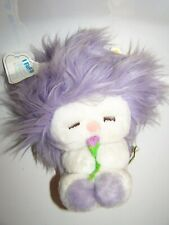 Vintage 1982 DAKIN PURPLE Frou Frou Fluff Up Plush