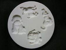 Alfabeto stampo cake design cupcake Top flessibile muffa Sugarcraft-CANI