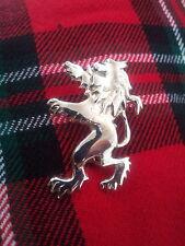 New Scottish Lion Rampant Kilt Pin Silver Plated/Lion Rampant Kilt Pin/KILT PINS