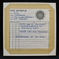 "ALLMAN BROTHERS ""Brothers Of The Road"" Reel To Reel Master Tape From Capricorn"