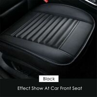 Black Car Front Seat Cover Breathable PU leather Seat Pad Auto Chair Cushion