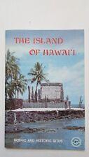 Vintage 1975 Island of Hawaii,Kilauea,Volcanoes,Water Falls,Kona Coast,Villages