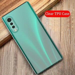 For LG Velvet / Velvet 5G Ultra-thin Crystal Transparent Soft TPU Case Cover