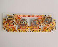 "Сoin 25 rubles /"" Olympic Games in Sochi 2014-Talismans-Khokhloma /"",Russia,UNC."