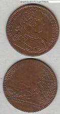 France Louis XV. Cu Jeton mit Jz. 1733 wohl Neumann 29978 (mm74) stampsdealer