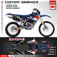 Kungfu Graphics Vinyl Decal Kit for Yamaha WR250F WR450F WRF 250 450 2003 2004