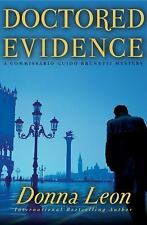 Doctored Evidence: A Commissario Guido Brunetti Mystery Leon, Donna Hardcover