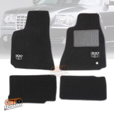 CHRYSLER 300C CAR FLOOR MATS F+R 10/2005-05/2012 SRT8 (300C LOGO) Charcoal