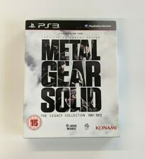 Signed by Hideo Kojima (2013): Metal Gear Solid - The Legacy Collection PS3