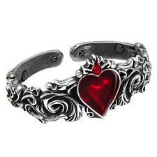Official Alchemy Gothic Rococo Style Betrothal Petwer Bracelet Bangle