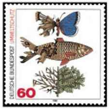 Timbre Poissons Papillons Allemagne 919 ** lot 22858