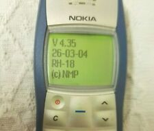 NOKIA 1100 RH-18 MADE IN GERMANY BLUE MOBILE PHONE WORKING UNLOCKED