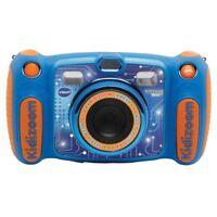 VTech Kidizoom Duo 5.0 Digitalkamera Blau Mädchen Fotos Effects Stimme Rekorder