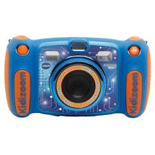 VTECH KIDIZOOM DUO 5.0 DIGITAL CAMERA BLUE GIRLS PHOTOS EFFECTS VOICE RECORDER