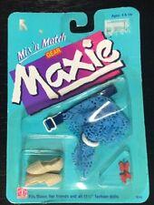 Rare 1987 Hasbro Maxie Doll Mix 'n Match Gear: Fashion Accessories - NIP