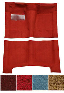 New! 1968 - 1972 CHEVY El Camino Carpet Set Molded w/ backing Pick Color