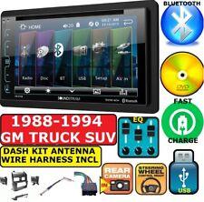GM SUV/ Full Size Trucks 88-94 CD/DVD BLUETOOTH USB DASH KIT CAR STEREO PKG