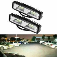 """2pcs 6"""" 48W LED Arbeitsscheinwerfer Flutlicht Driving Fog Lampe Offroad LKW SUV"""