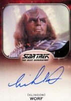 Star Trek Aliens Michael Dorn as Worf Autograph Card