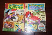 Lot 2 Disney Almanac - Brazilian comics 1987