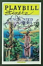 Enchanted April Cast Signed with Molly Ringwald Hand Signed Autographed Playbill