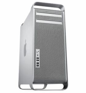 Apple Mac Pro Eight Core 3.0 Ghz 2007 Desktop 120GB SSD 32GB RAM 2TB HDD ATI VGA