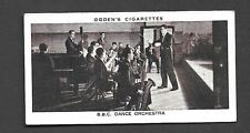 Ogden's - Broadcasting ( 1935). Card # 35 - BBC Dance Orchestra  VGC