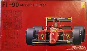 Fujimi 1/20 F1-90 Mexican GP 1990 Model Kit