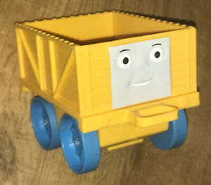 Thomas + Friends My First Thomas Large Push Along Cargo Yellow Truck Only Used