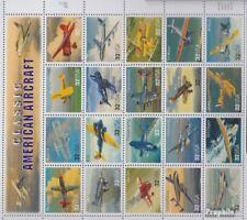 USA 2833-2852 Zd-Bogen (kompl.Ausg.) postfrisch 1997 Flugzeuge