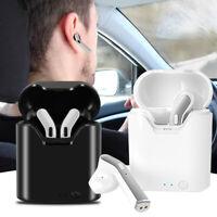Wireless Headset Noise Cancelling Waterproof Bluetooth 5.0 Earbuds Headphones