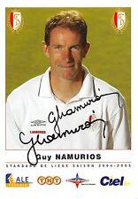 Guy Namurios - Standard Lüttich / Liege  - Autogrammkarte - orig. sig