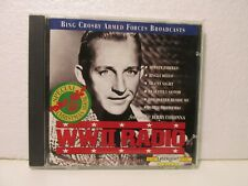 Bing Crosby Armed Forces Broadcasts WWII Radio CD Delta Music 1994 cd11354