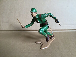 Vintage Marx Toys WWll Japanese Toy Soldier 5inch. Made In GT Britain 1960s