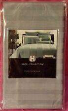 "Hotel Collection euro sham, 26""x26"", classic stripe, light green, NWT"