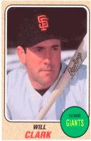 1993 Baseball Card Magazine '68 Topps Replicas Baseball SC62 Will Clark