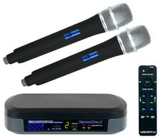 VocoPro TabletOke-II Digital Karaoke Mixer w/ Wireless Mics & Bluetooth Receiver