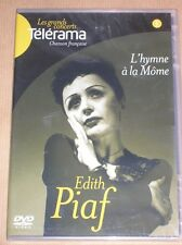 DVD MUSICAL / EDITH PIAF / L'HYMNE A LA MOME / NEUF SOUS CELLO