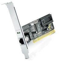CSL - Gigabit LAN PCI network card / Fast Ethernet Adapter 10/100/1000 DSL Realt