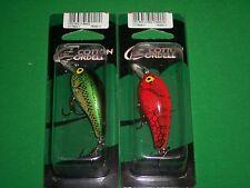 Cotton Cordell CRD Crankbait - Big O-Bass & Red Crawdad (2 Pack)