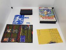 Sonic the hedgehog | Sega Master System | AUS SELLER |SMS
