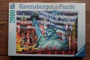Ravensburger Premium Puzzle 2000 New York Collage - Walter Pepperle 98x75cm